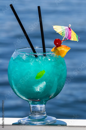 Fish Bowl cocktail