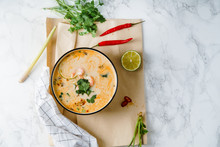 Tom Yum Soup With Shrimps, Tra...