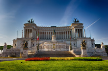 Vittoriano Or Altar Of The Fatherland In Rome, Italy