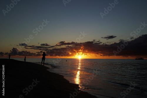 Fotografia, Obraz  Sunset at the Maldives