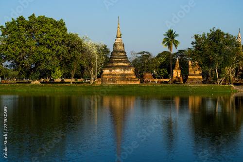Fotografie, Obraz  sukhothai temple
