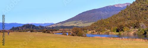 Picturesque landscape at Tokaanu area,Turangi, New Zealand