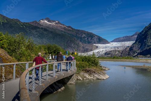 Fotografie, Obraz  Mandenhall Glacier