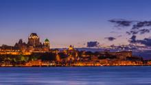 Skyline Of Quebec City Over Sa...