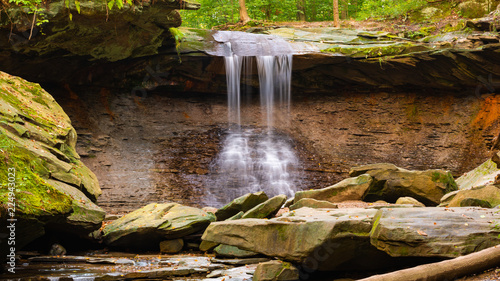 Fototapeta Blue Hen Falls in the Cuyahoga Valley