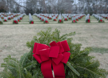 Wreaths Placed On Veteran Graves