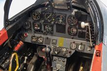 Inside Cockpit Instrumentation, Flight, Plane, Closeup