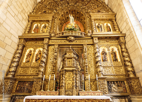 Fotografie, Obraz  Escalhao – Parish Church