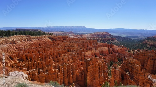 Bryce Canyon National Park Overlook and Hoodoos