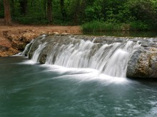 This Waterfalls In Chickasaw N...