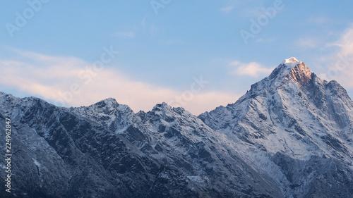 ネパールの山