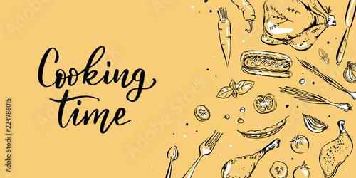 Plakaty do jadalni cooking-banner