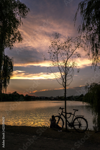 Canvas Prints Autumn Relaxen am See