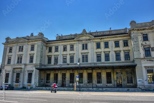 Fotografía  Historischer Bahnhof Trieste Campo Marzio