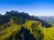 Kampenwand and Chiemgau alps in autumn
