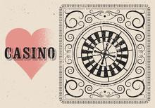 Casino Typographical Vintage G...