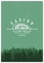Casino Typographical Vintage G...