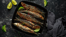 Grilled Sardines With Thyme, C...