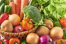 新鮮野菜の集合