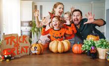 Happy Halloween! Family Mother...