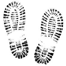 Human Feet Print, Footprints S...