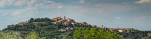 Panoramic View Of The Hilltop ...