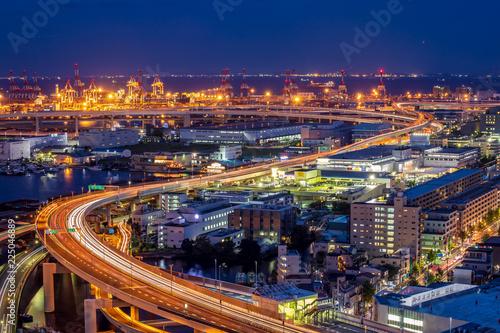 Poster Bangkok 横浜の夜景