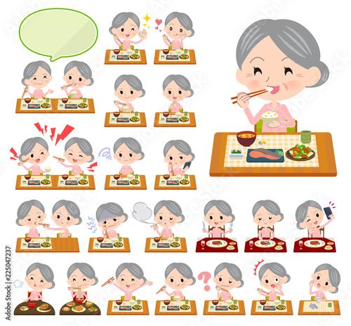 Fotografie, Tablou  patient senior women_Meal
