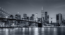Panorama New York City At Nigh...