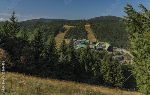 Keuken foto achterwand Verenigde Staten Cervenohorske pass in Jeseniky mountains in summer day