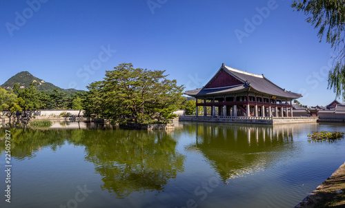Deurstickers Seoel Seoul Korea Palace