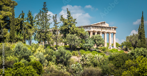 Photo  Temple of Hephaestus, Athens, Greece