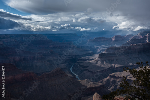Foto op Aluminium Blauw Colorado River