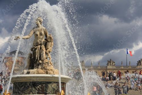 In de dag Fontaine Château de Versailles