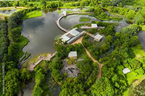 Hong Kong wetland park Fotobehang
