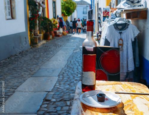 Ginja de Obidos, traditional sour cherry liquor