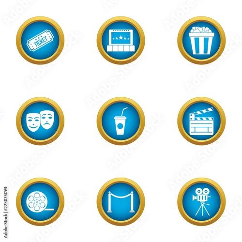 Fotografía  Admission icons set