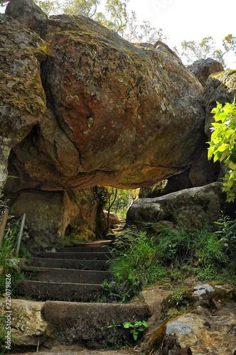 Staande foto Oceanië Hanging rock-a mystical place in Australia, Victoria
