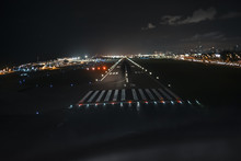 Runway View On Final Approach