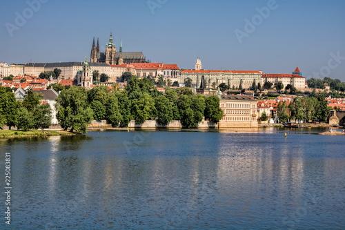 Staande foto Praag Prag, Kleinseite mit Hradschin