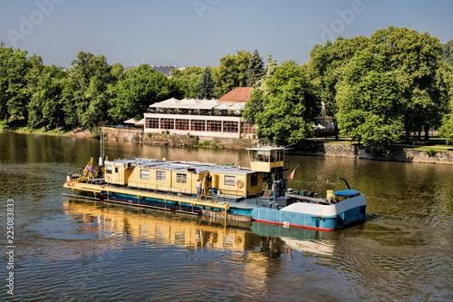 Staande foto Praag Prag, Moldau