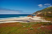 Pacific Coast Landscape In Cal...