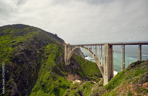 Keuken foto achterwand Centraal-Amerika Landen Bixby Creek Bridge on Highway 1, California