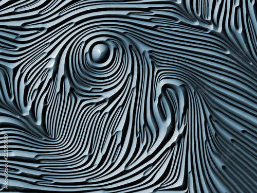 Conceptual Abstract Shapes Fototapet