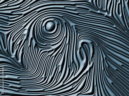 Valokuva  Conceptual Abstract Shapes