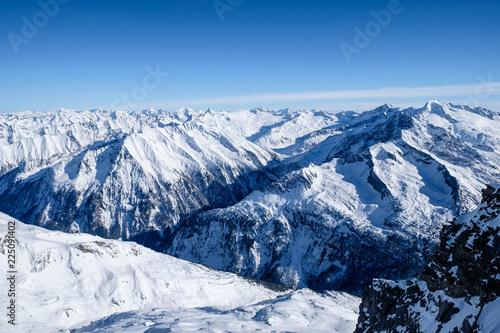 Winterpanorama Zillertaler Alpen