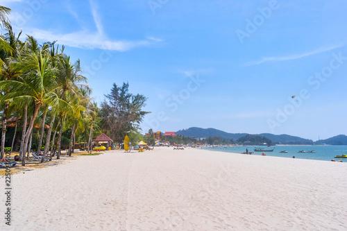 Staande foto Strand Cenang Beach in Langkawi island, Malaysia