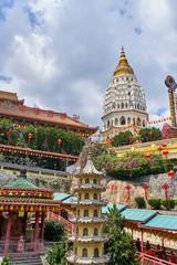 Kek Lok Si Temple on Penang island, Georgetown, Malaysia