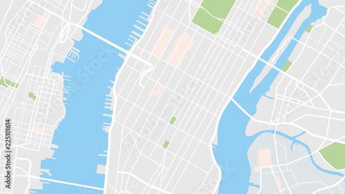 Mapa miasta Nowy Jork