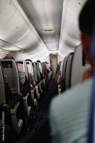 Tuinposter Airplane Isle on a Full Plane